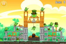 Angry Birds Seasons Walkthrough Go Green Get Lucky Level 1