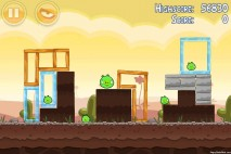 Angry Birds Poached Eggs 3 Star Walkthrough Level 3-14