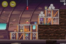 Angry Birds Rio Smugglers Plane Level 12-11