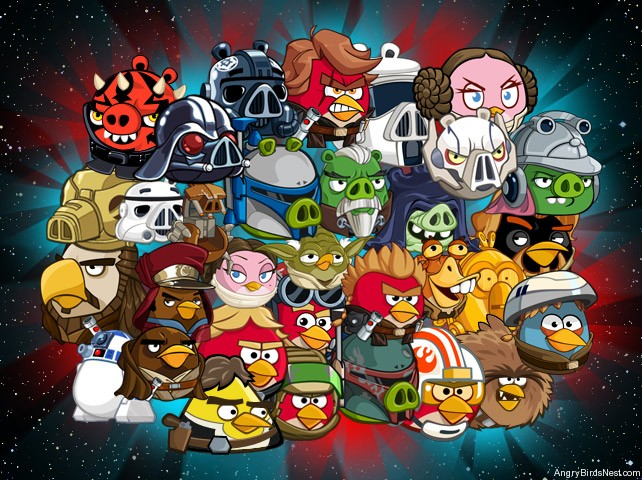 complete angry birds star wars 2 characters guide all characters powers angrybirdsnest. Black Bedroom Furniture Sets. Home Design Ideas