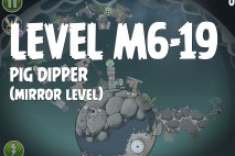 Angry Birds Space Pig Dipper Mirror Level M6-19 Walkthrough