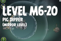Angry Birds Space Pig Dipper Mirror Level M6-20 Walkthrough