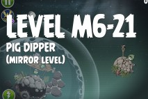Angry Birds Space Pig Dipper Mirror Level M6-21 Walkthrough