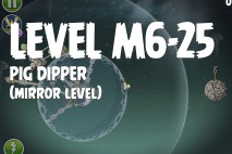Angry Birds Space Pig Dipper Mirror Level M6-25 Walkthrough