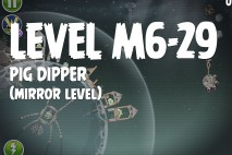 Angry Birds Space Pig Dipper Mirror Level M6-29 Walkthrough