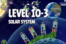 Angry Birds Space Solar System Level 10-3 Walkthrough