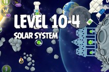 Angry Birds Space Solar System Level 10-4 Walkthrough