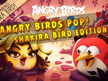 Angry Birds Pop Shakira Edition Feature Image