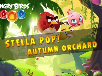 Angry Birds Stella Pop Autumn Orchard Feature Image
