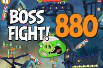 Angry Birds 2 Boss Fight Level 880 Walkthrough – Pig City Porkland