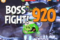 Angry Birds 2 Boss Fight Level 920 Walkthrough – Cobalt Plateaus Pigfoot Mountains