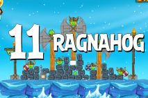 Angry Birds Seasons Ragnahog Level 1-11 Walkthrough