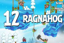 Angry Birds Seasons Ragnahog Level 1-12 Walkthrough