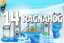 Angry Birds Seasons Ragnahog Level 1-14 Walkthrough