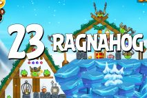 Angry Birds Seasons Ragnahog Level 1-23 Walkthrough