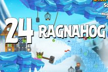 Angry Birds Seasons Ragnahog Level 1-24 Walkthrough