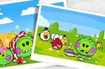 Angry Birds McDonald's Level #1 Walkthrough