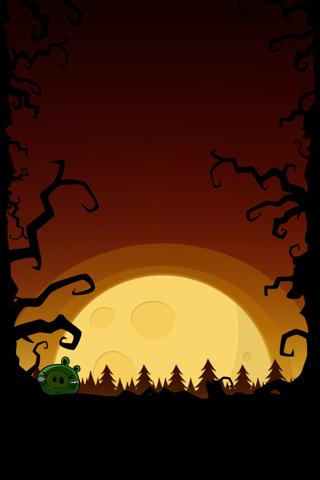 Angry Birds Halloween Iphone Desktop Backgrounds