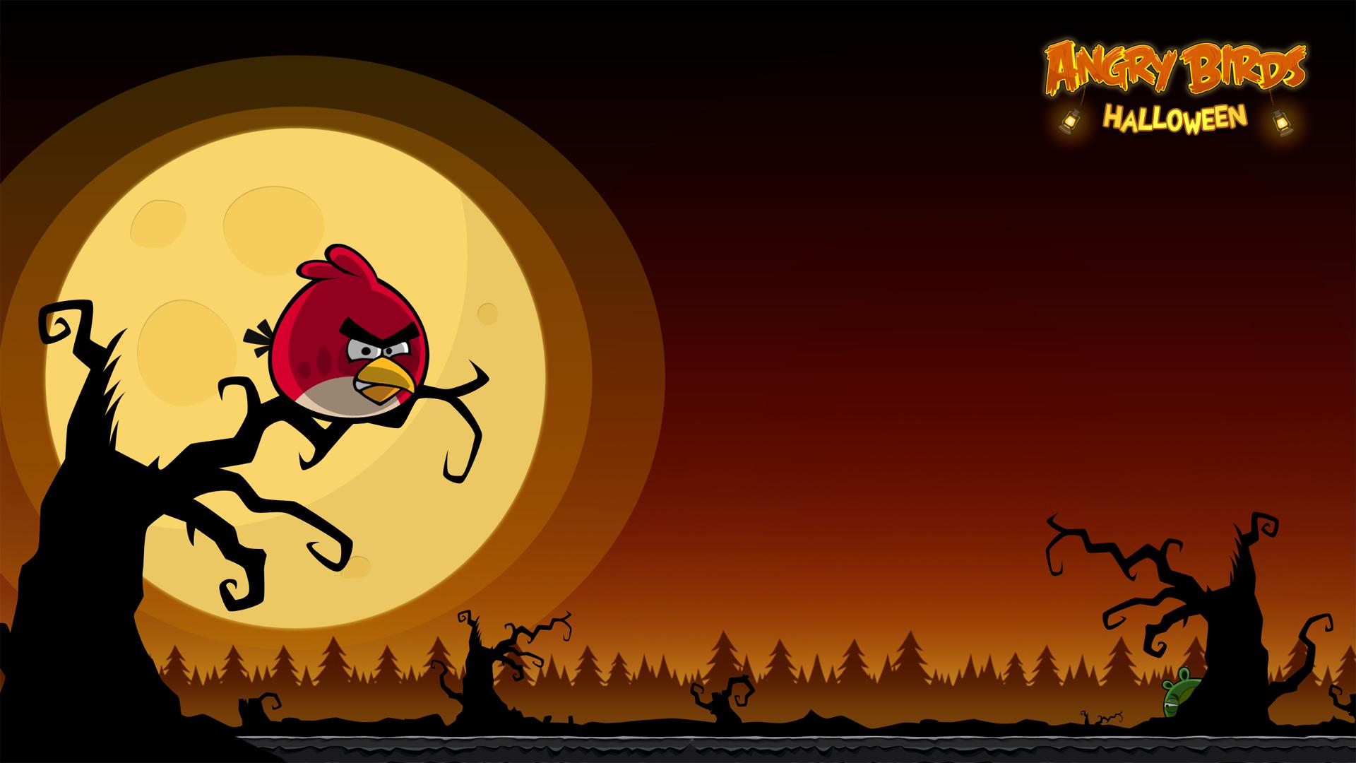 Angry Birds Halloween iPhone & Desktop Backgrounds | AngryBirdsNest