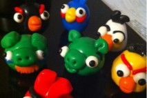 Angry Birds Clay Figures