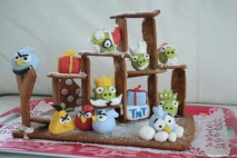 Angry Birds Ginger Bread House