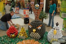 Angry Birds Out of Cans