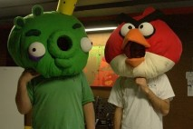 Angry Birds Plush Masks