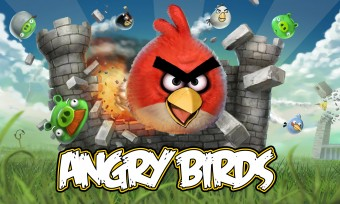Angry Birds Exploding Castle Wallpaper