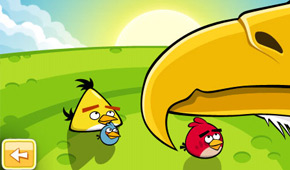 Angry Birds Golden Egg Star Mighty Eagle's Beak
