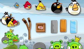 Angry Birds Golden Egg Star Soundboard
