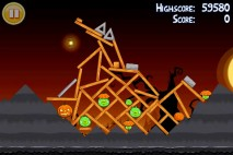 Angry Birds Seasons Trick or Treat Level 2-10 Walkthrough