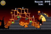 Angry Birds Seasons Trick or Treat Level 2-15 Walkthrough