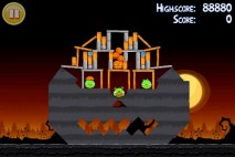 Angry Birds Seasons Trick or Treat Level 2-2 Walkthrough