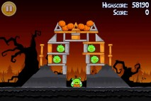 Angry Birds Seasons Trick or Treat Level 2-3 Walkthrough