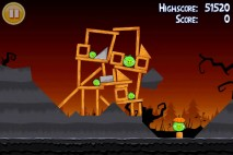 Angry Birds Seasons Trick or Treat Level 2-9 Walkthrough