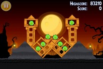 Angry Birds Seasons Trick or Treat Level 3-10 Walkthrough