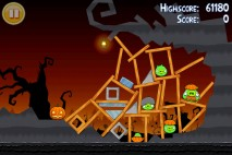 Angry Birds Seasons Trick or Treat Level 3-12 Walkthrough