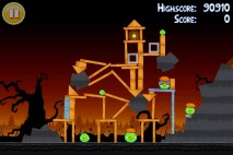 Angry Birds Seasons Trick or Treat Level 3-14 Walkthrough