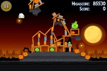 Angry Birds Seasons Trick or Treat Level 3-15 Walkthrough