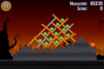 Angry Birds Seasons Trick or Treat Level 3-7 Walkthrough