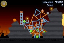 Angry Birds Seasons Trick or Treat Level 3-8 Walkthrough