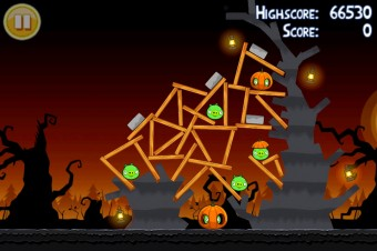 Angry Birds Seasons Trick or Treat Level 3-9 Walkthrough