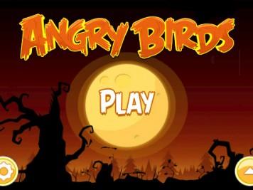 Angry Birds Halloween Home Screen