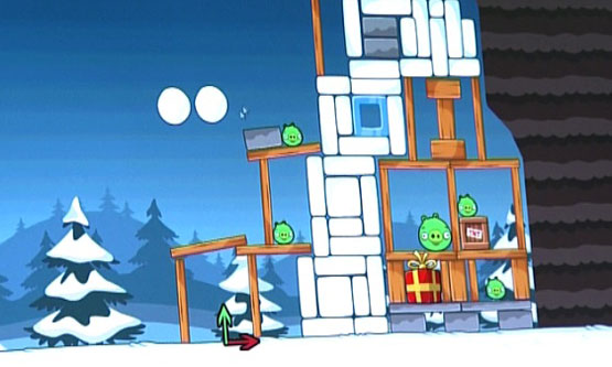 Angry Birds Christmas Edition Leaked Image