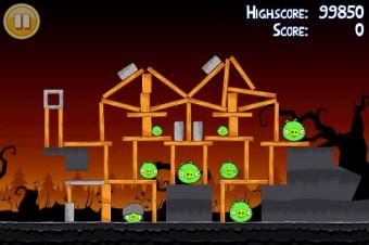Angry Birds Seasons Trick or Treat Level 1-10 Walkthrough