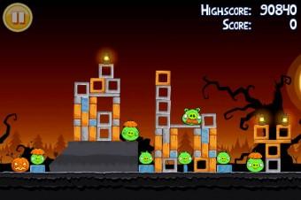 Angry Birds Seasons Trick or Treat Level 1-11 Walkthrough