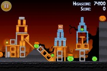 Angry Birds Seasons Trick or Treat Level 1-12 Walkthrough