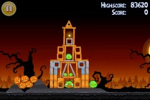 Angry Birds Seasons Trick or Treat Level 1-13 Walkthrough