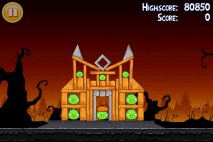 Angry Birds Seasons Trick or Treat Level 1-14 Walkthrough