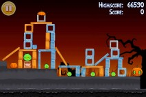 Angry Birds Seasons Trick or Treat Level 1-15 Walkthrough